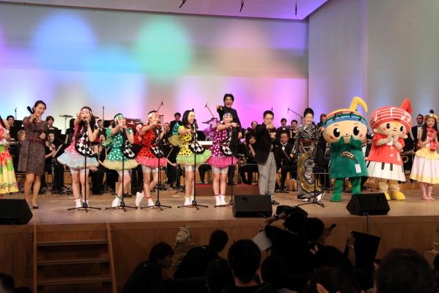 ⓒテレビ朝日 「題名のない音楽会」3月2日放送「東北から響け!①あさ9時だョ!全員集合」