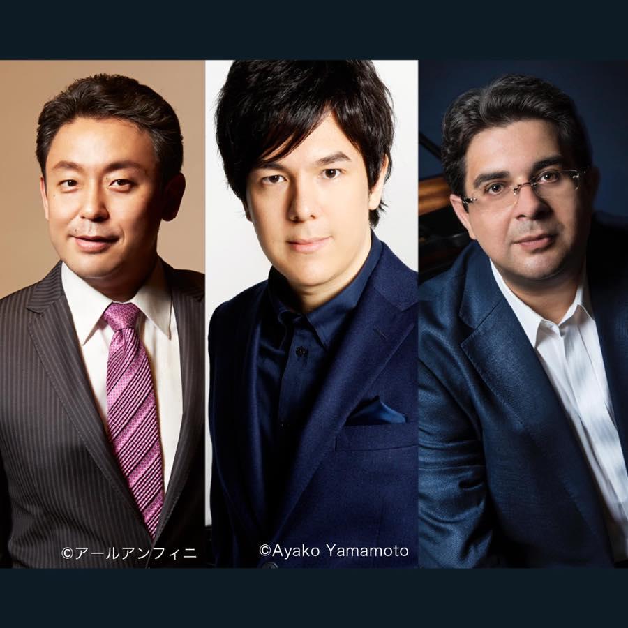 3人の名手が弾き分ける 超豪華!「悲愴」「月光」「熱情」のベートーヴェン3大ソナタ!!