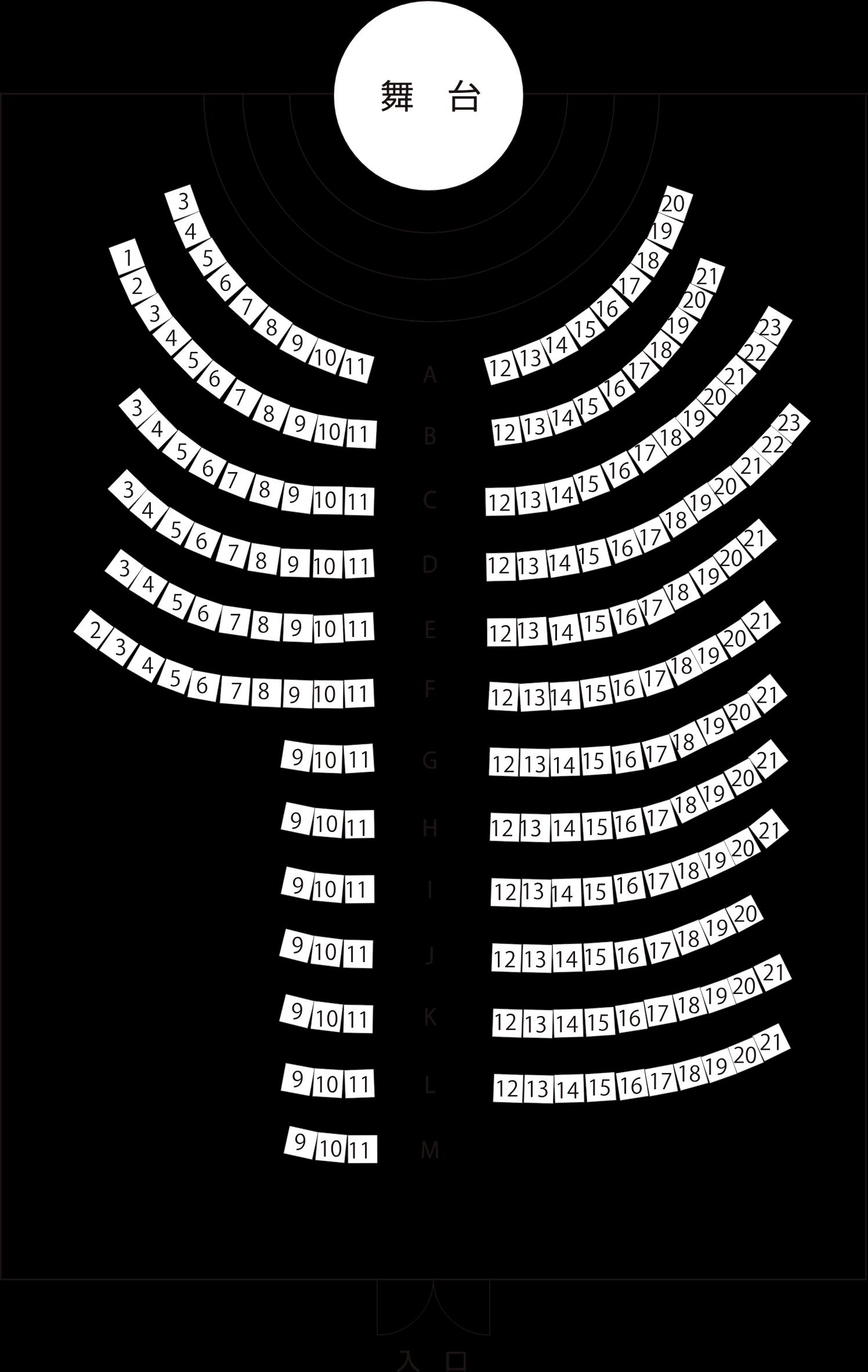 パフォーマンス広場(地下1階)