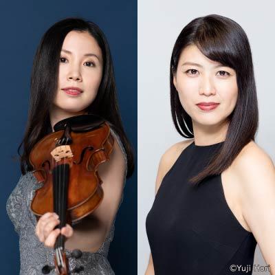 米元響子&菊池洋子が贈る 「モーツァルトのヴァイオリン・ソナタ」の世界