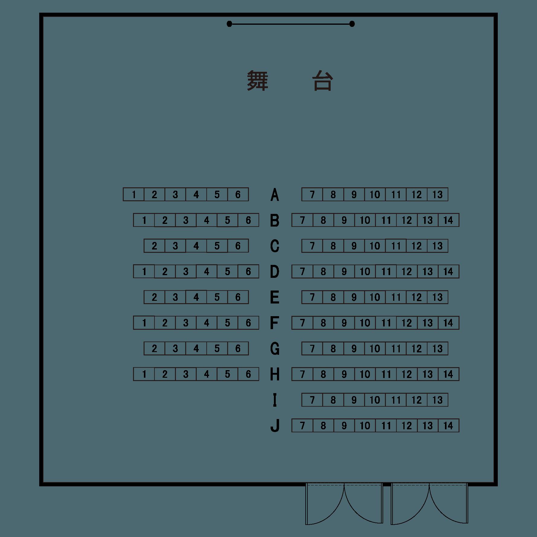 展示ホール(地下1階)