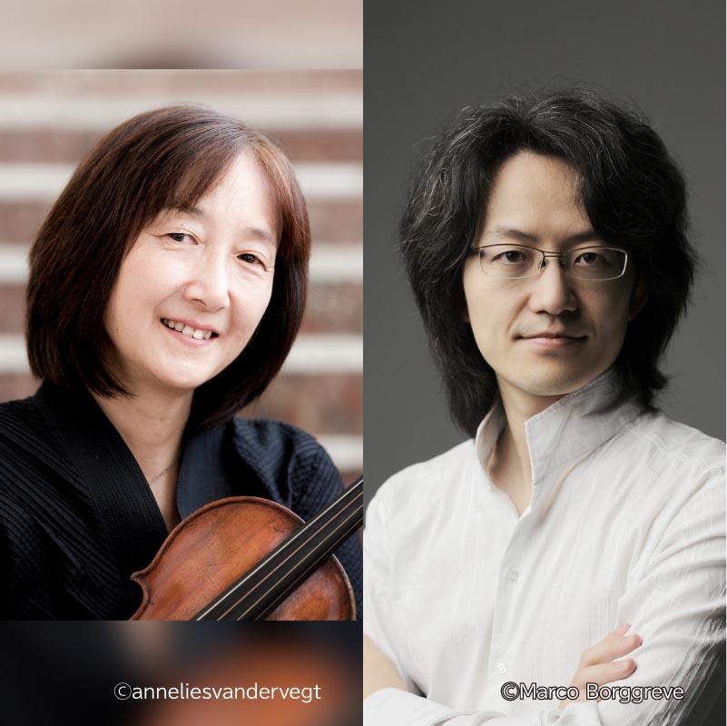 【35】若松夏美&鈴木優人 バロック・ヴァイオリンとチェンバロの調べ 「究極のバッハ」