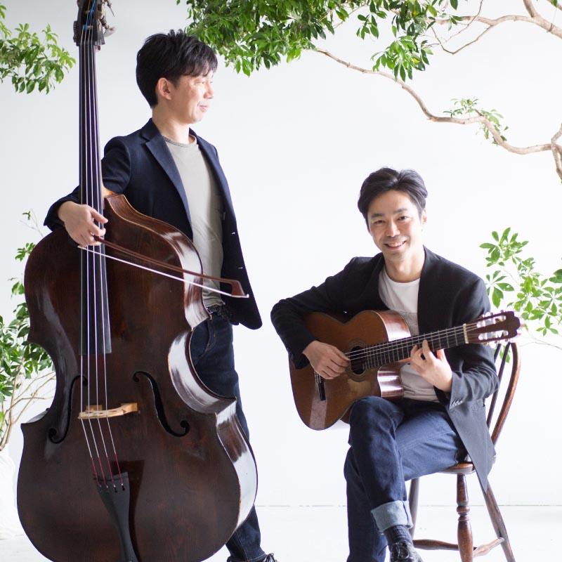 【4】ギターとコントラバスの  ボッサな名曲広場  「ウタノバ」