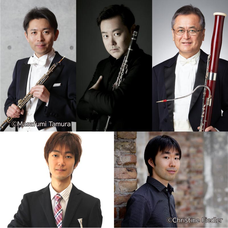 【53】こんなにいたのか!  仙台ゆかりの名演奏家Ⅱ  ~モーツァルト ピアノと管楽のための五重奏曲