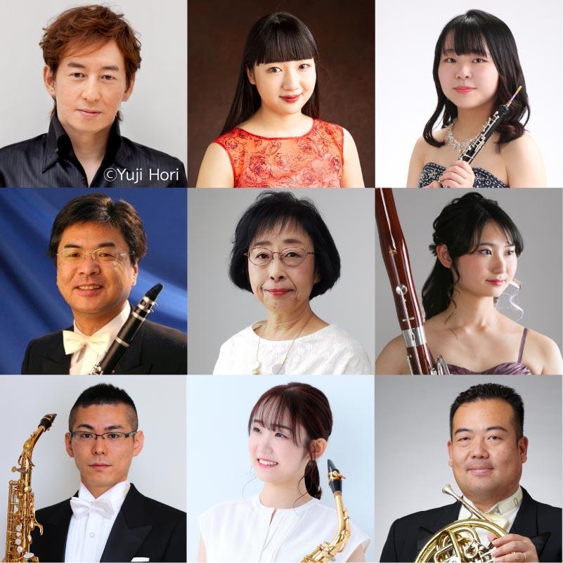 【66】及川浩治と宮城学院女子大学の仲間達が贈る  管楽器アンサンブルの愉しみ
